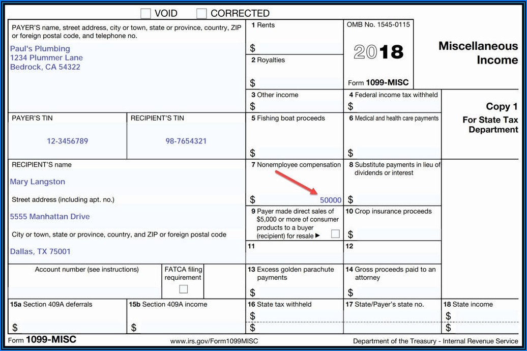 Www Irs Gov Forms 1099 Misc