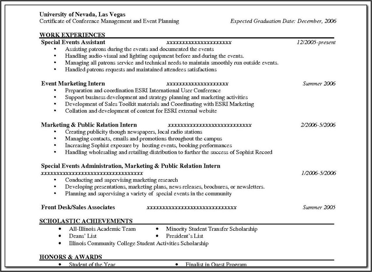 Yahoo Resume Builder