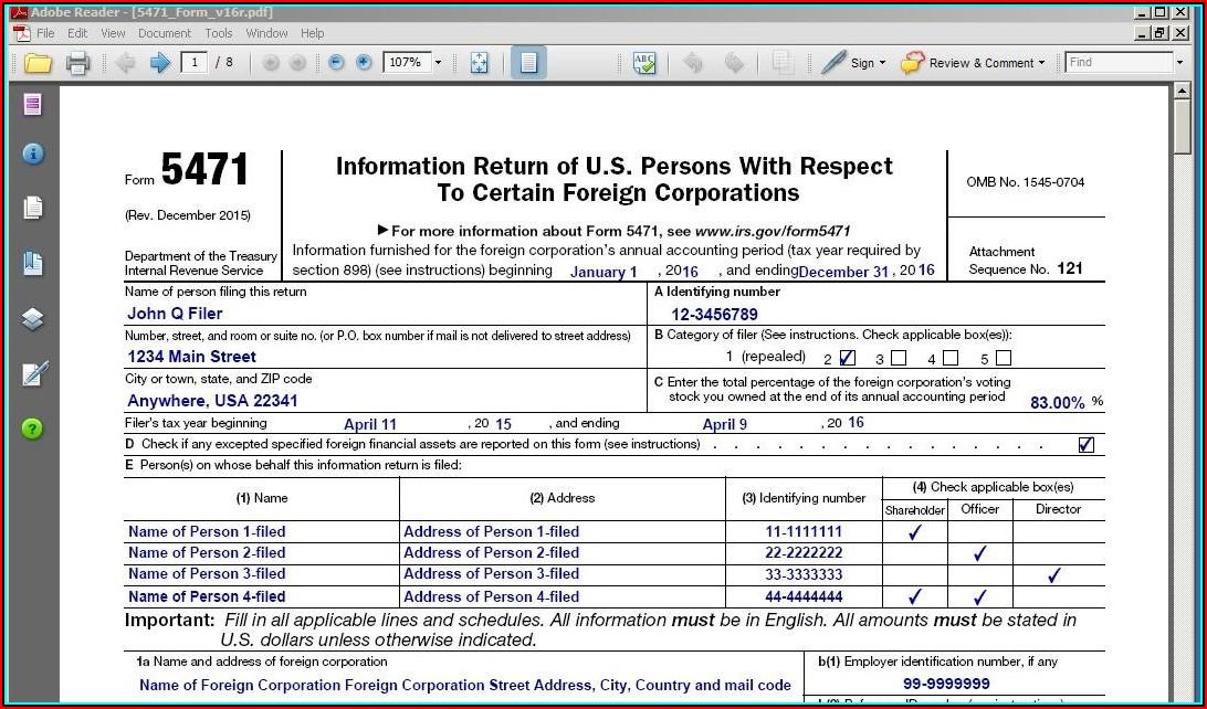 1040x Online Form