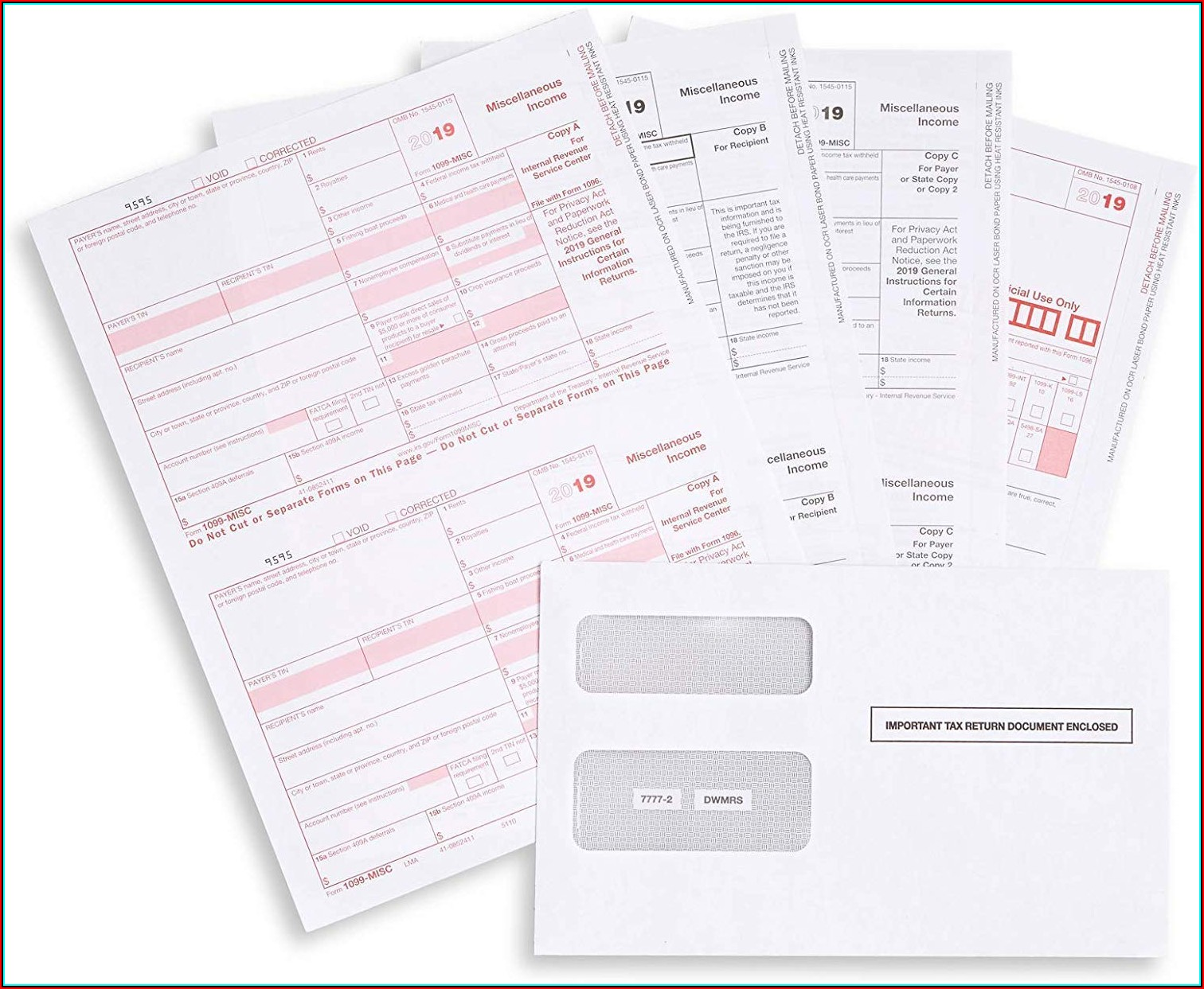 1099 Misc Tax Form 2019