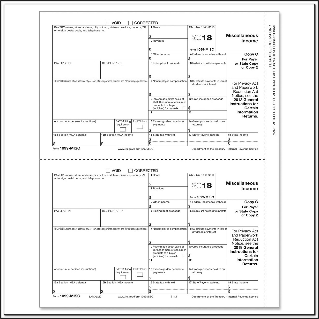 1099 Misc Tax Forms Software Kit