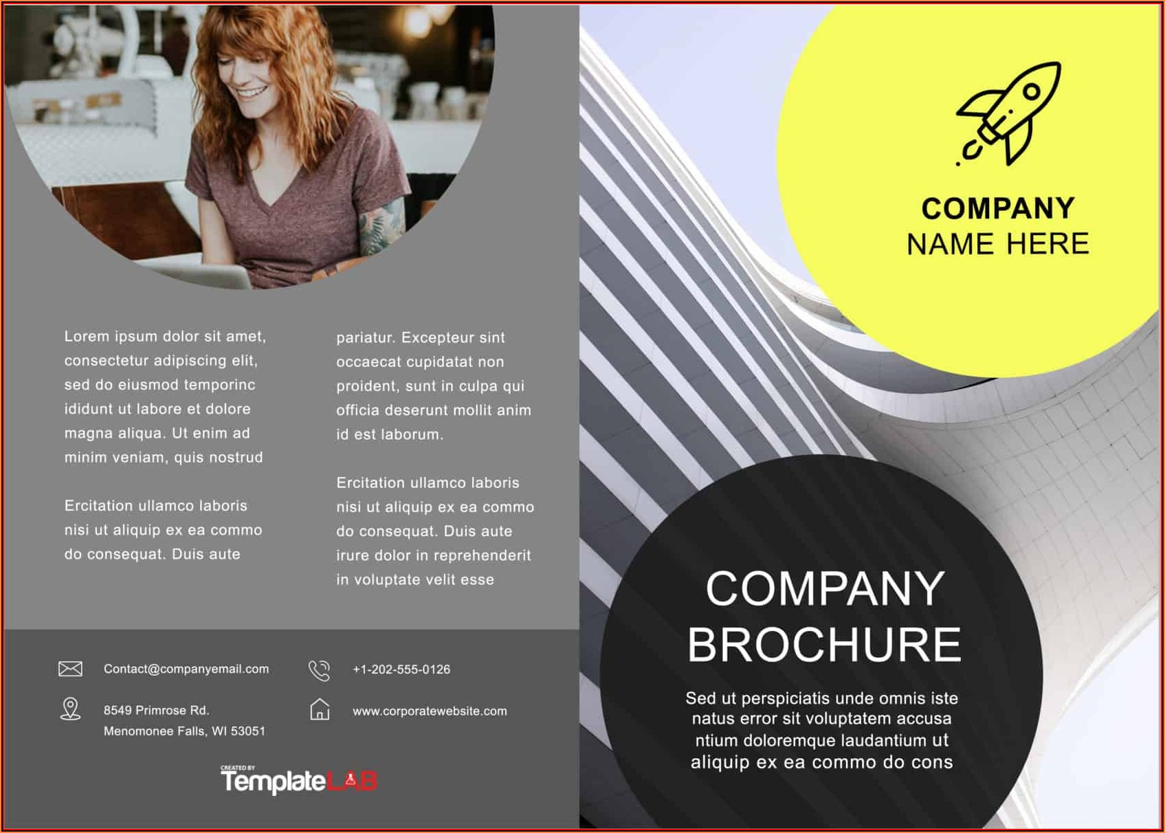 11x17 Brochure Template Word Free