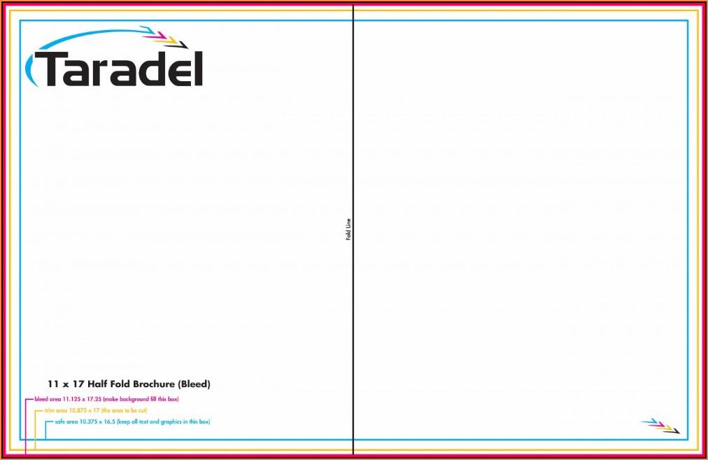 11x17 Brochure Template Word