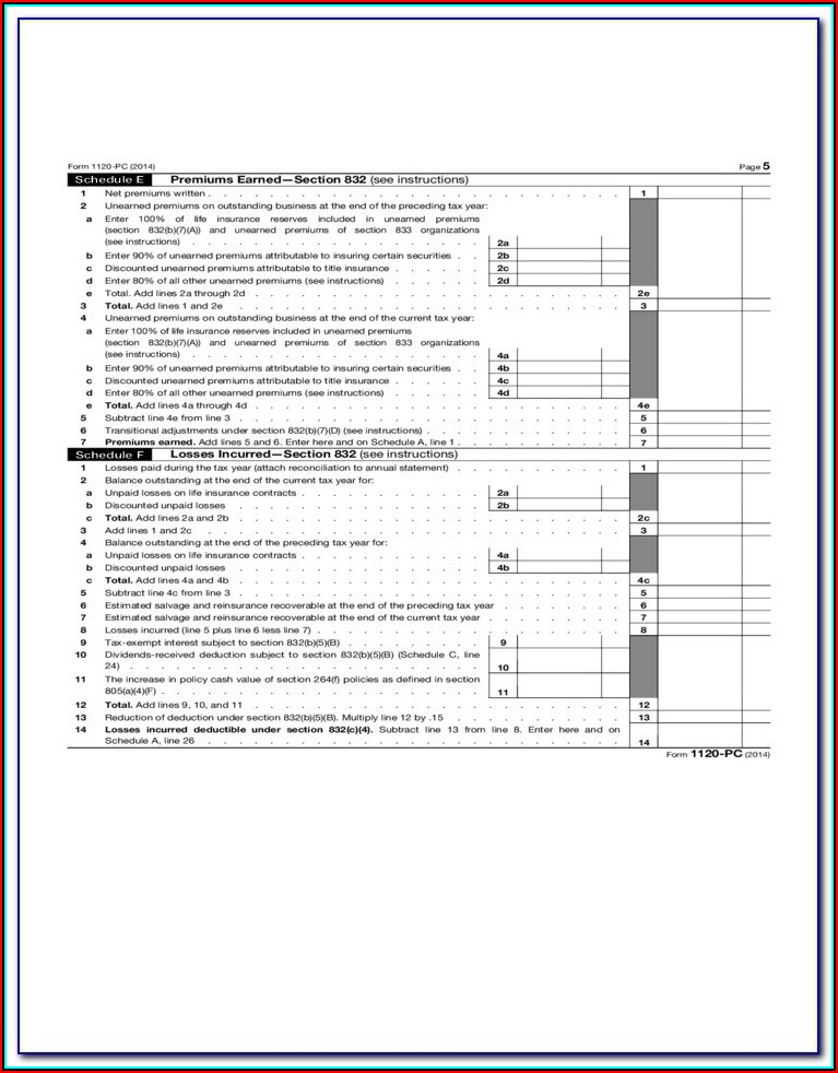 2014 Form 1120s Instructions