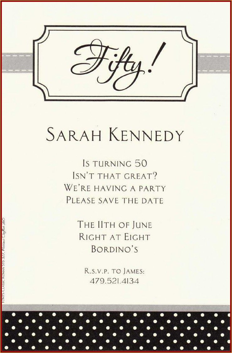21st Birthday Invitation Templates Word
