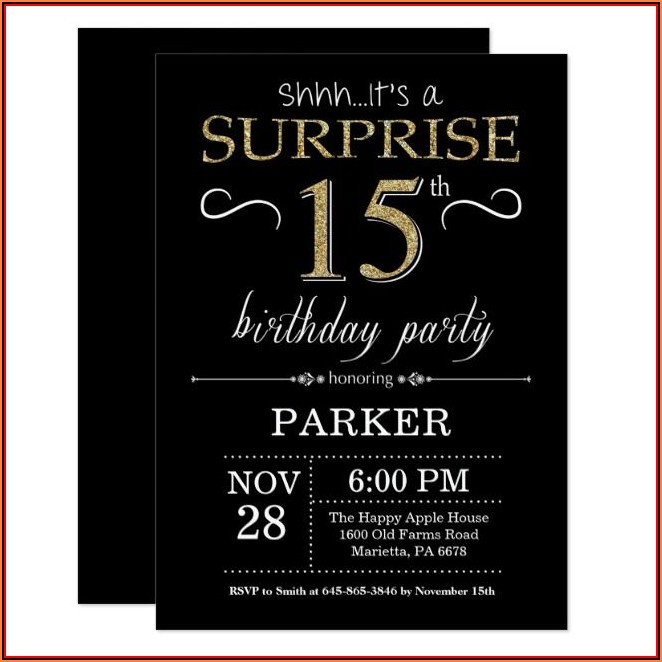 40th Birthday Invitation Maker