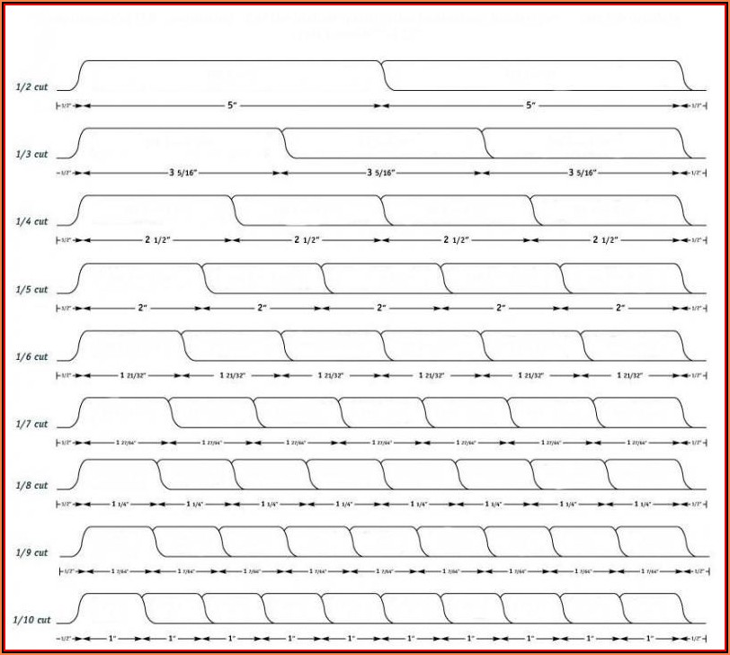 5 Tab Index Divider Template