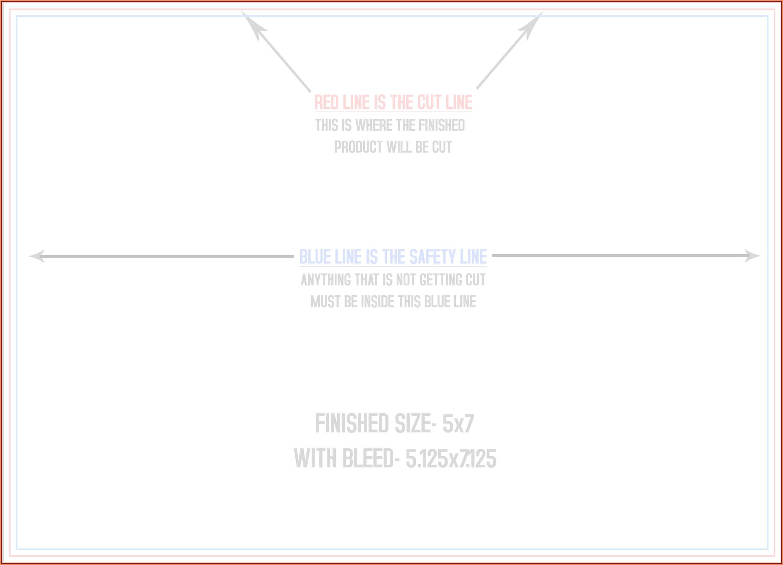6x9 Envelope Printing Template