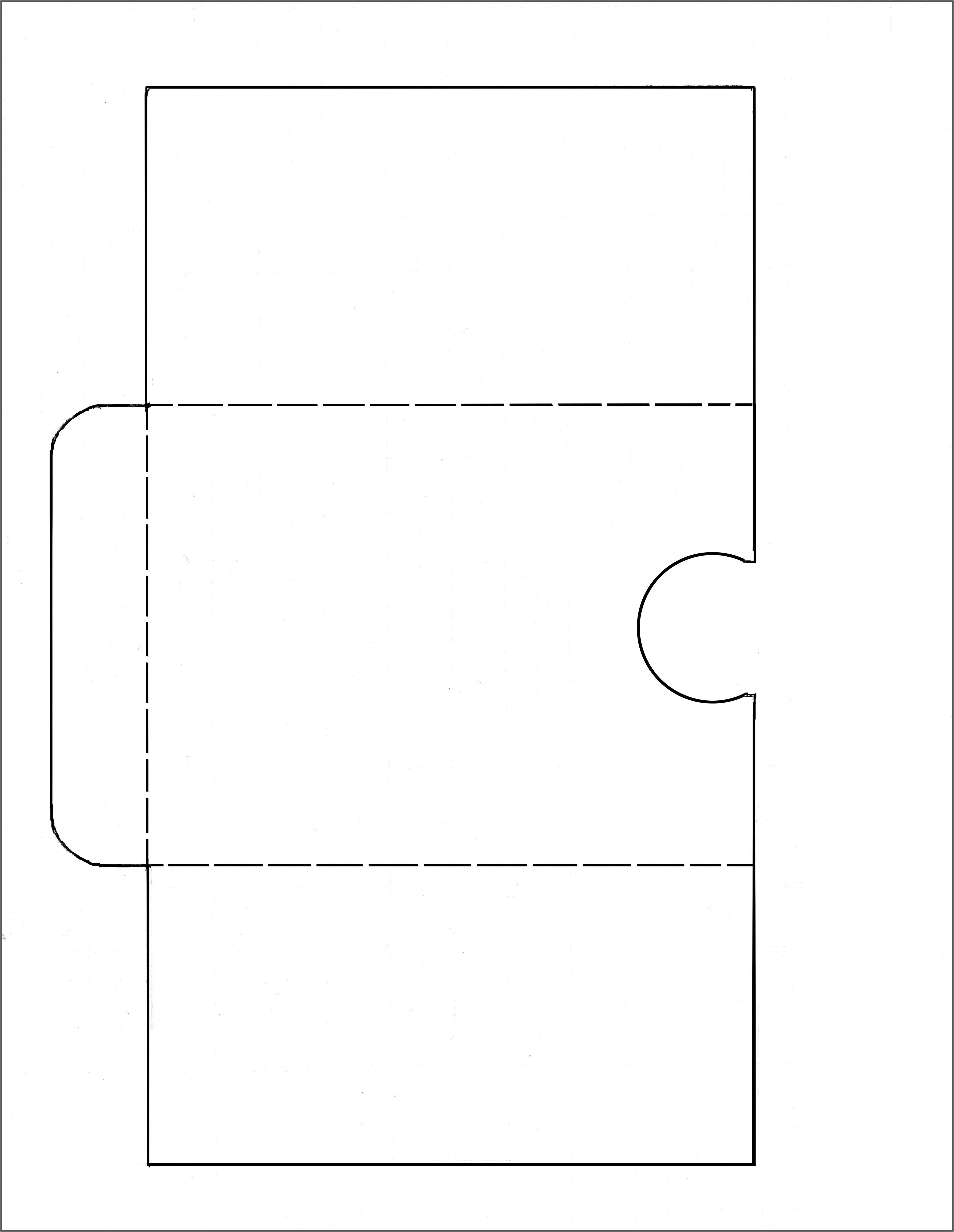 6x9 Envelope Template Indesign