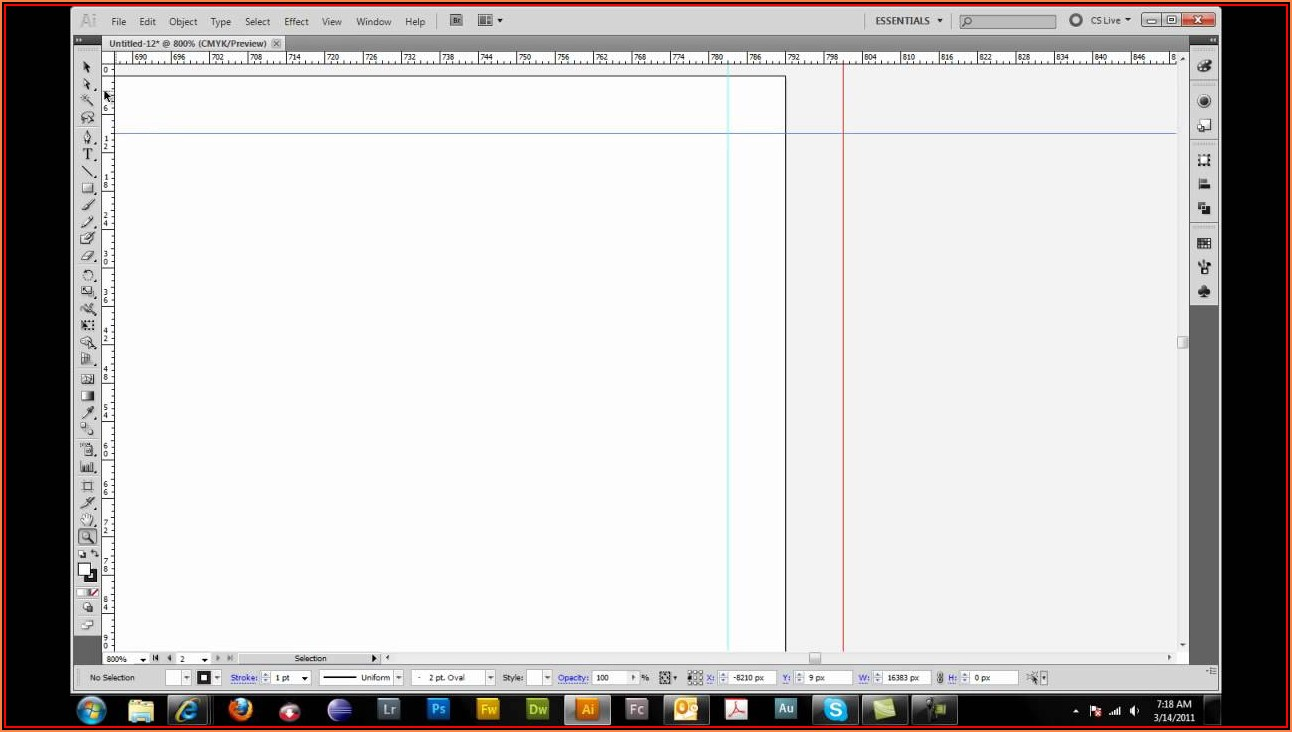 8.5 X 11 Trifold Template Illustrator