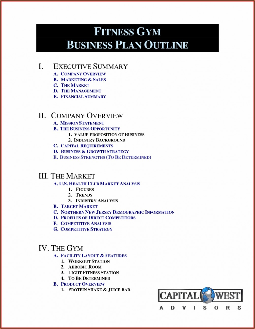 90 Day Business Plan Example