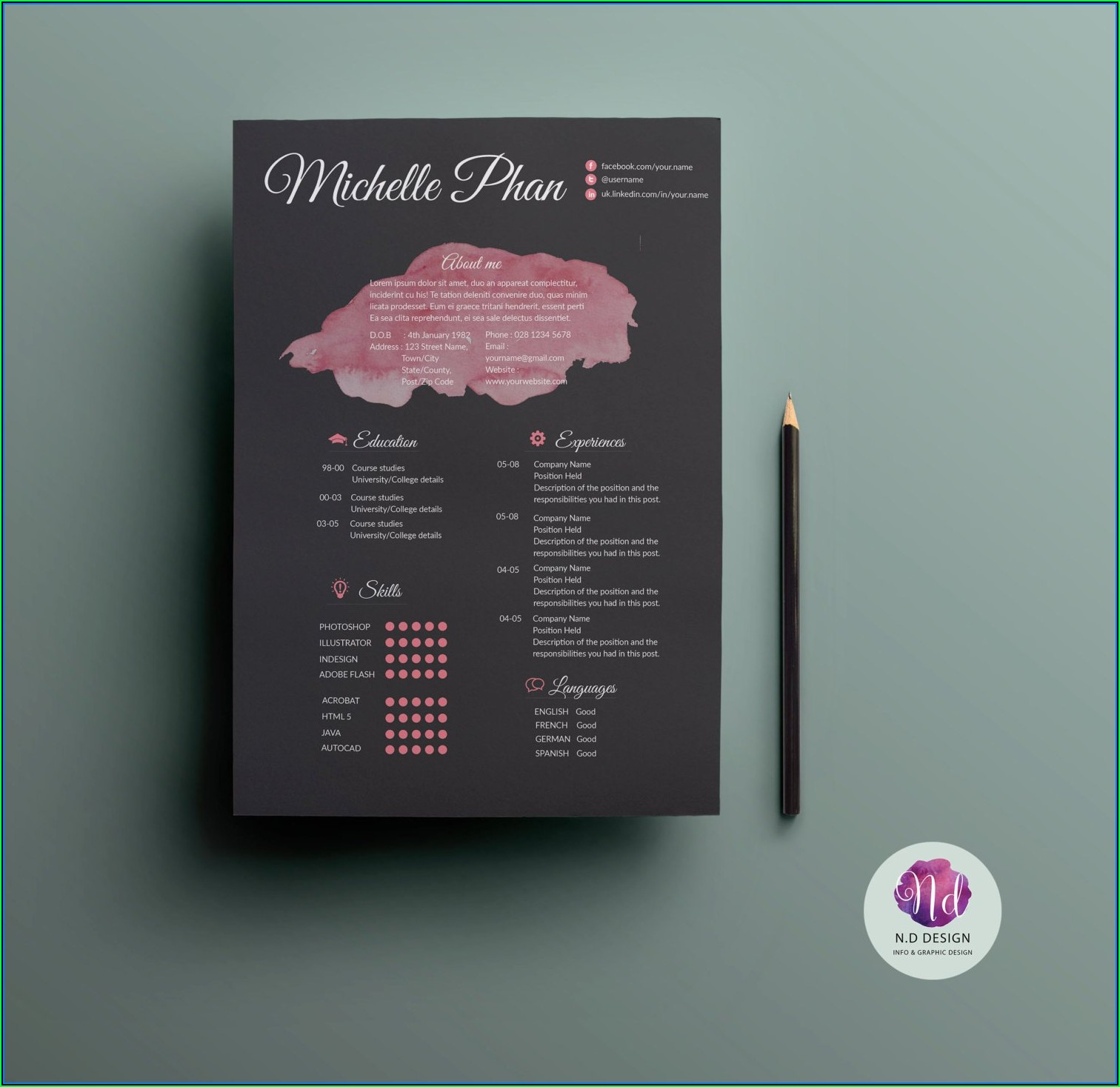Absolutely Free Printable Resume Templates