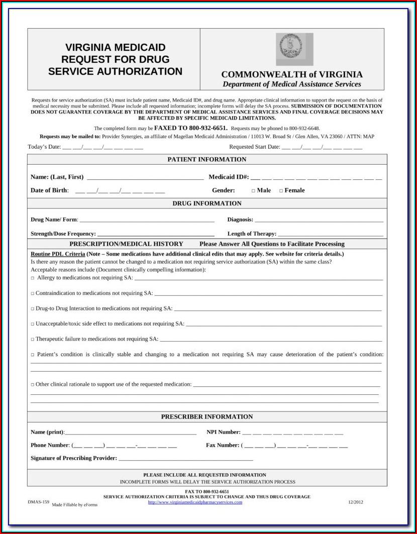 Amerigroup Medicare Advantage Prior Authorization Forms