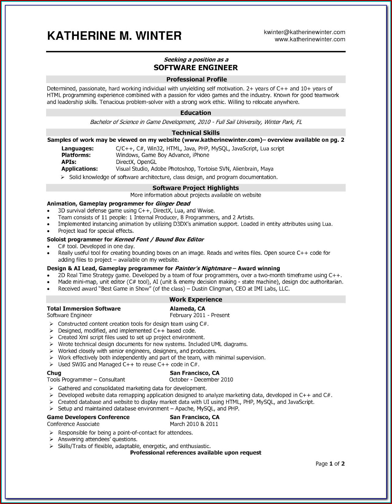 Appraisal Form Filling Software Developer