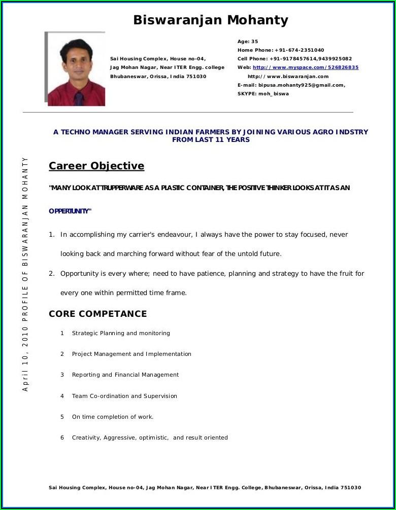 Australian Online Resume Builder