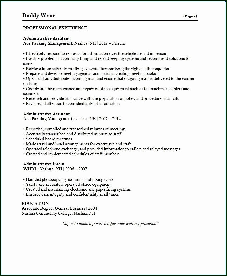 Best Current Resume Templates
