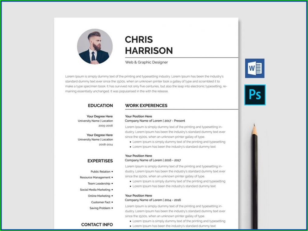 Best Free Ms Word Resume Templates