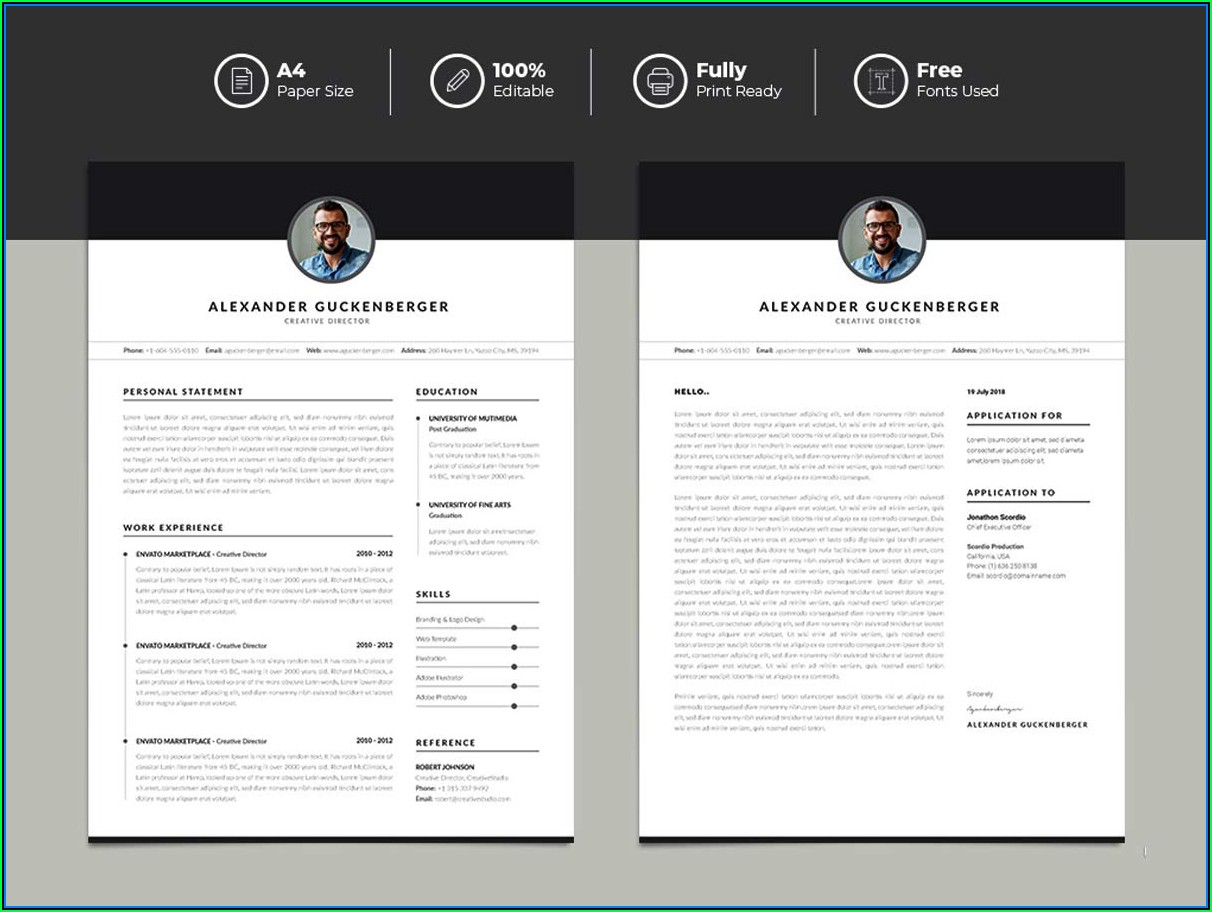 Best Free Resume Templates 2019 Word