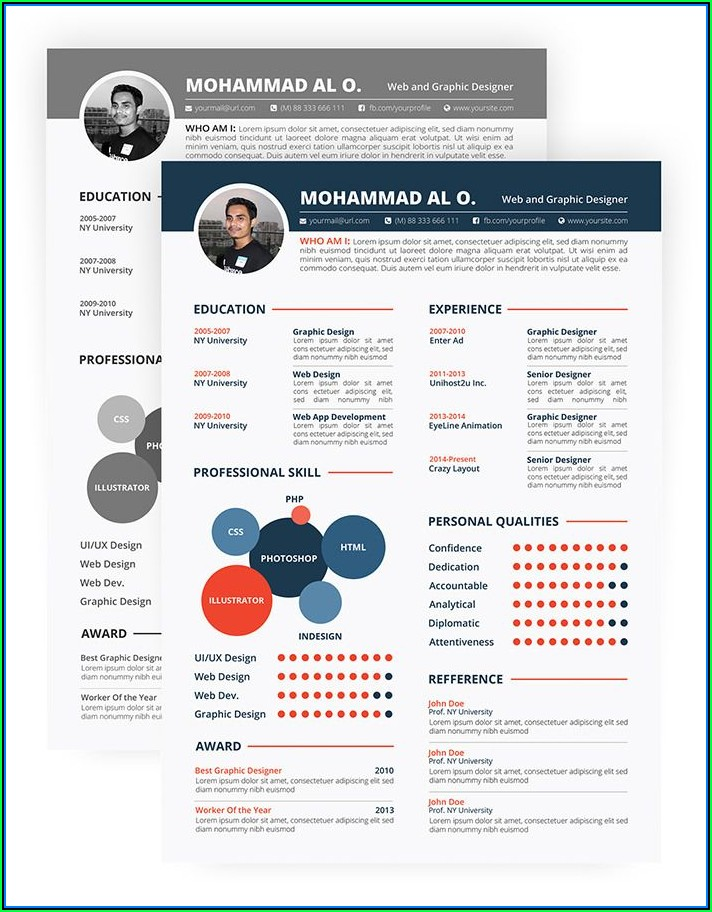 Best Resume Templates Download