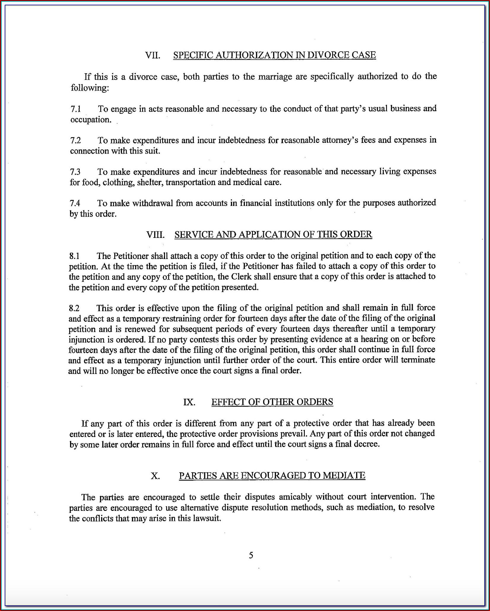 Bexar County Clerk Divorce Forms