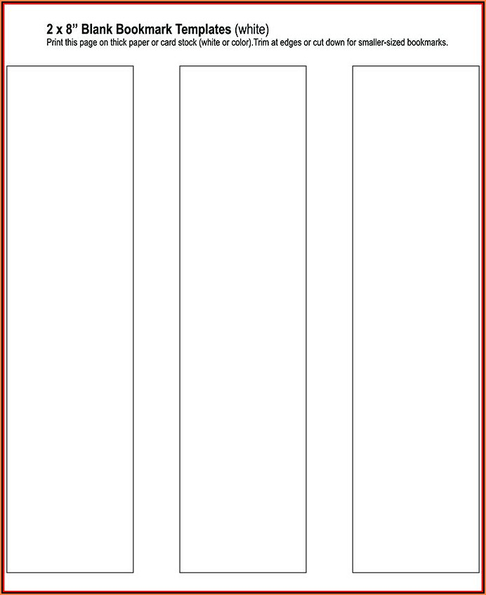 Blank Gift Tag Template Word