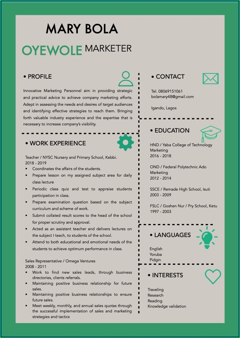 Build A Resume And Cover Letter