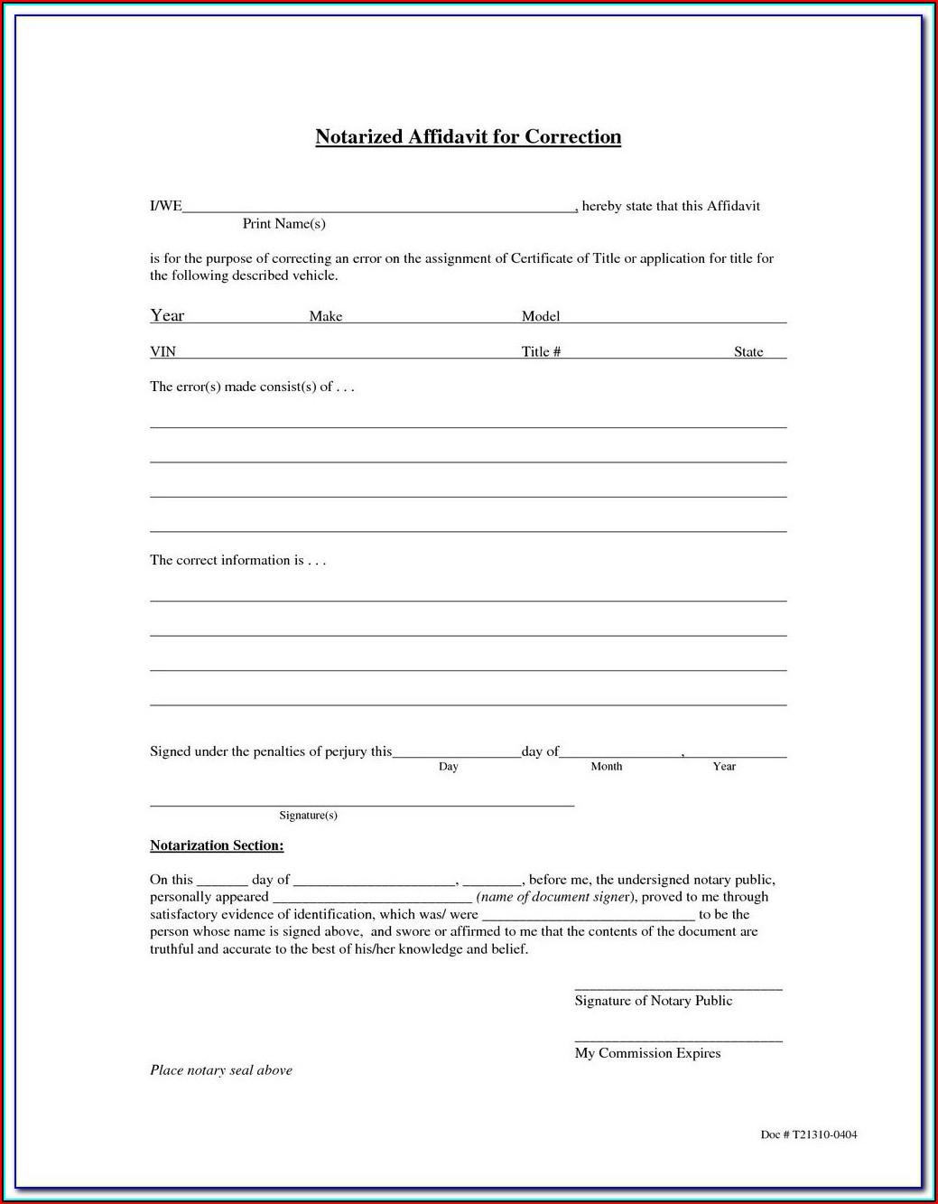 California Notary Forms Jurat