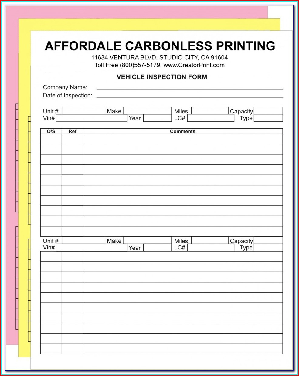 Carbonless Forms Printing Philippines