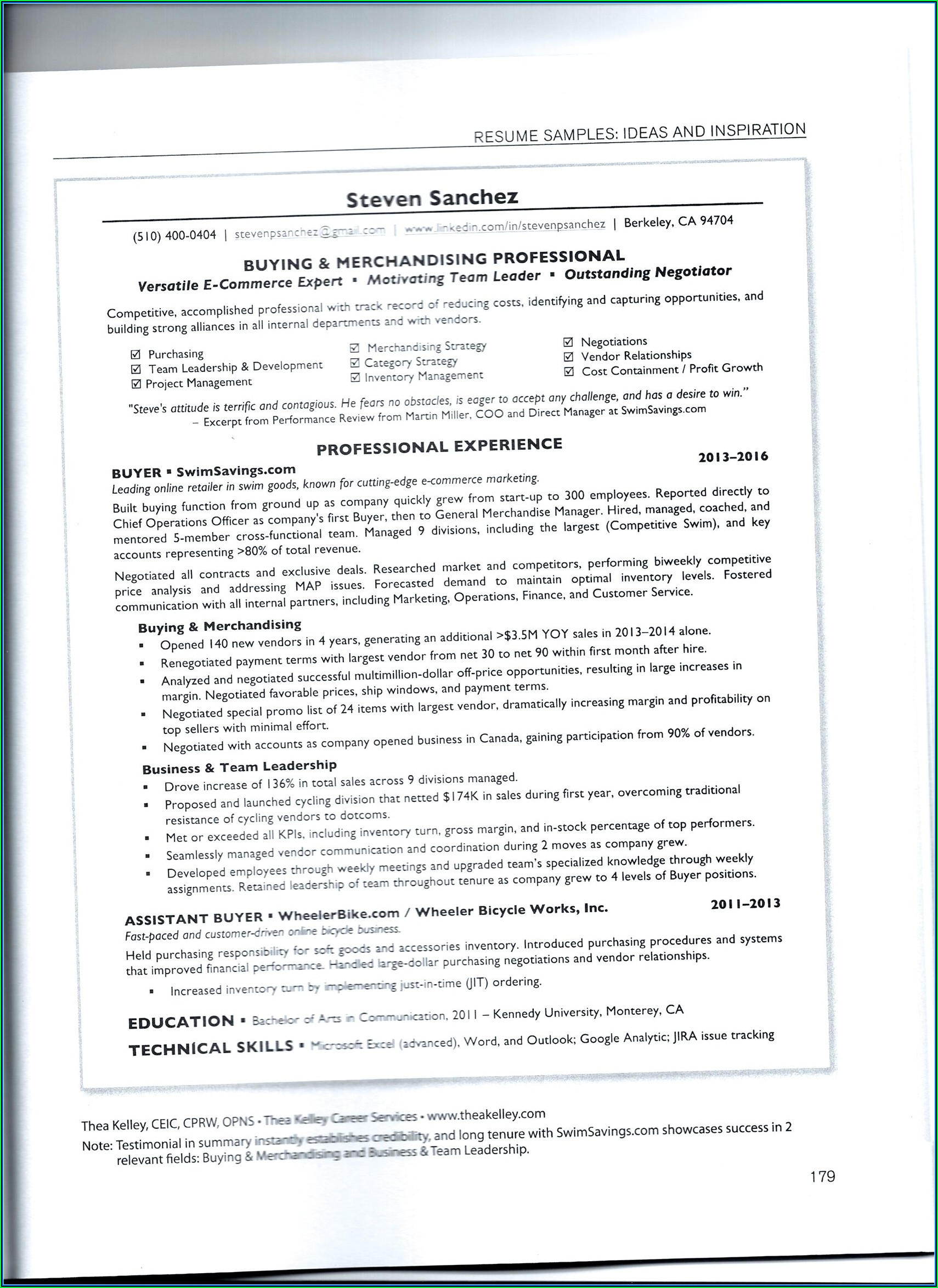 Careerbuilder Resume Template