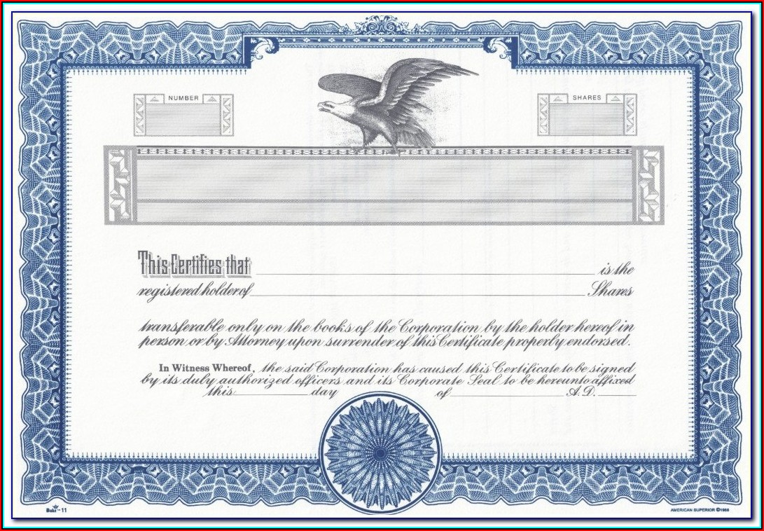 Certificate Of Origin Blank Form