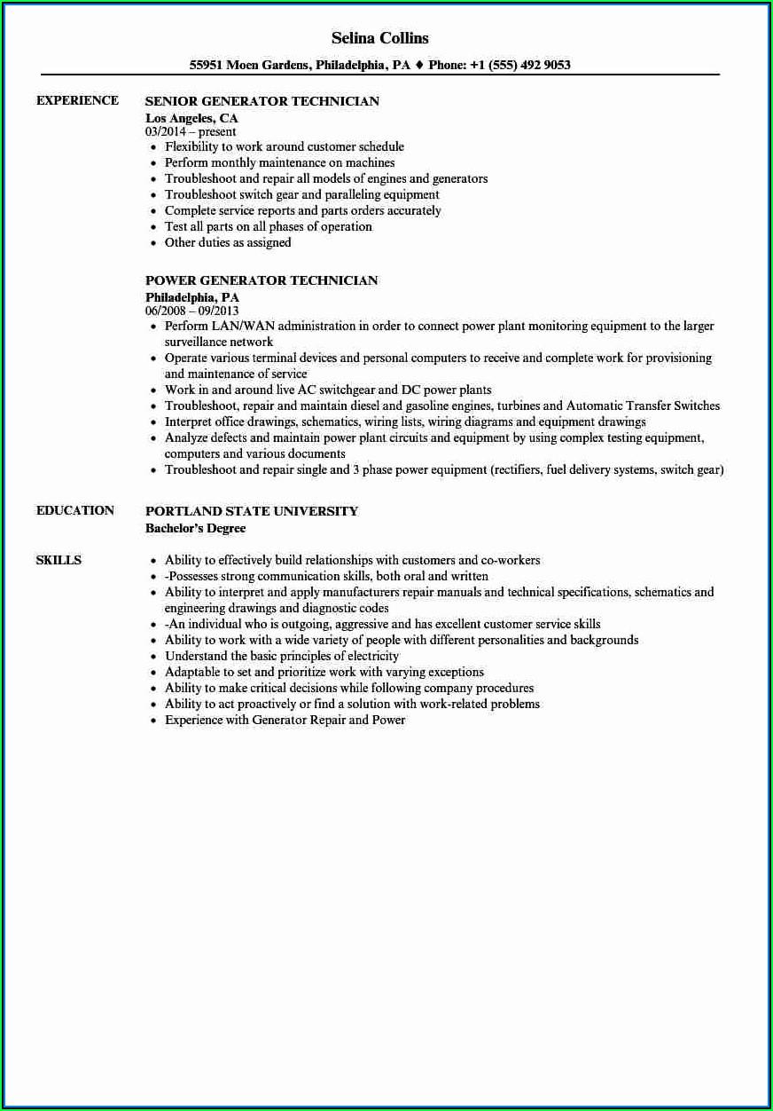 College Resume Generator