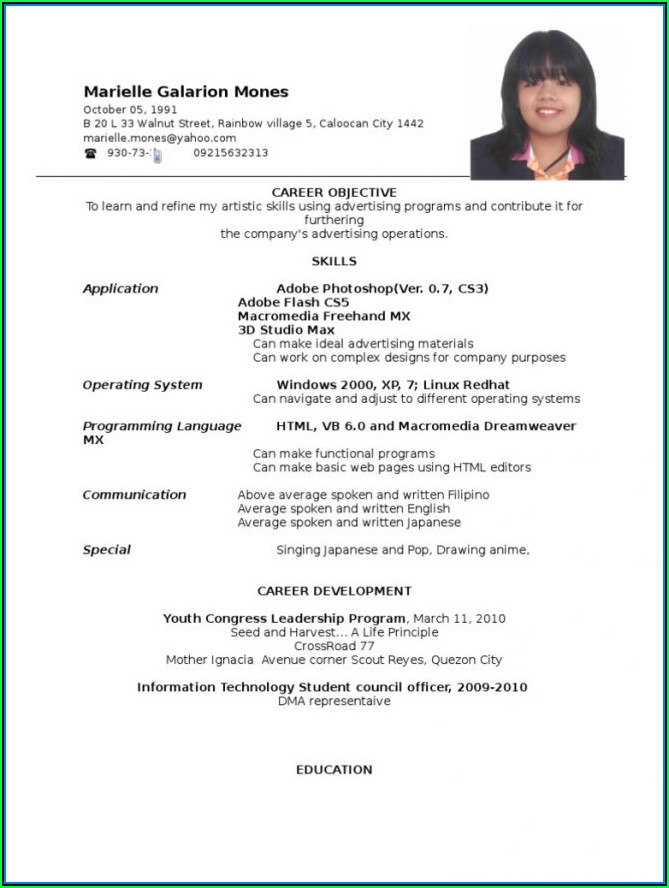 Company Driver Resume Objective