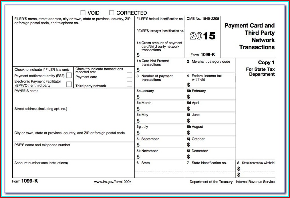 Corrected Form 1099 And 1096