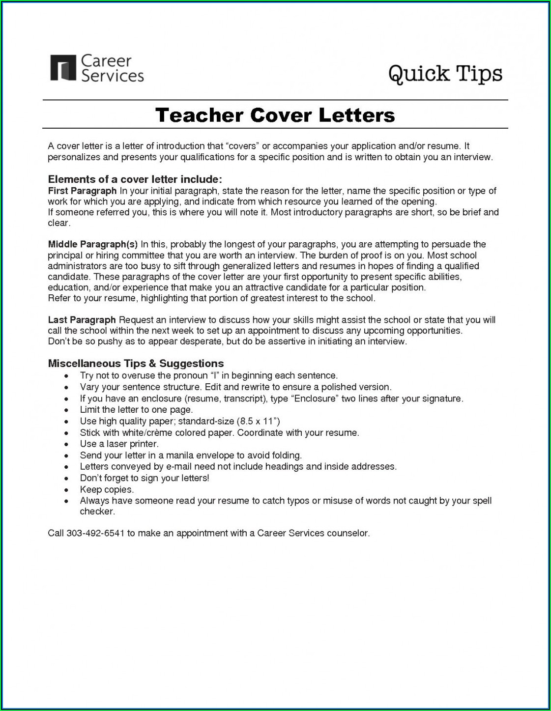 Creating The Perfect Resume And Cover Letter