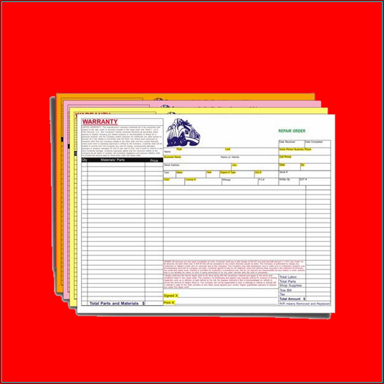 Custom Carbonless Forms Printing