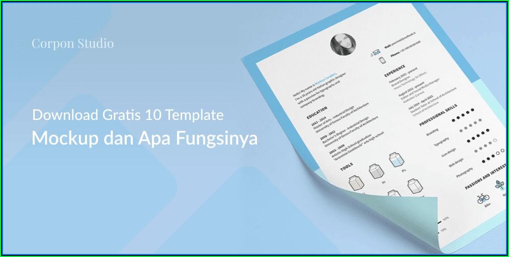 Cv Format Template Word Download
