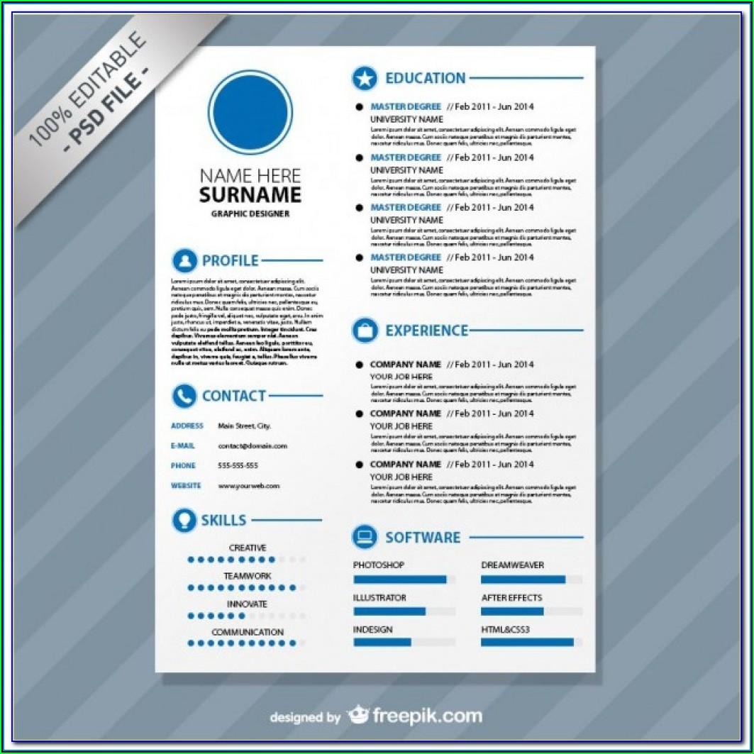 Cv Template Download Mac