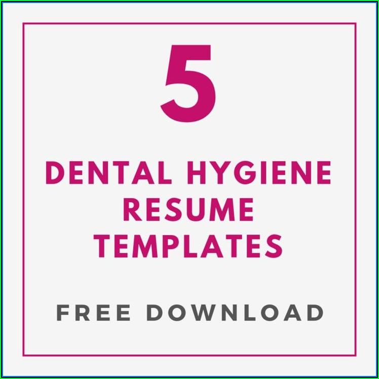 Dental Hygiene Resume Template Download