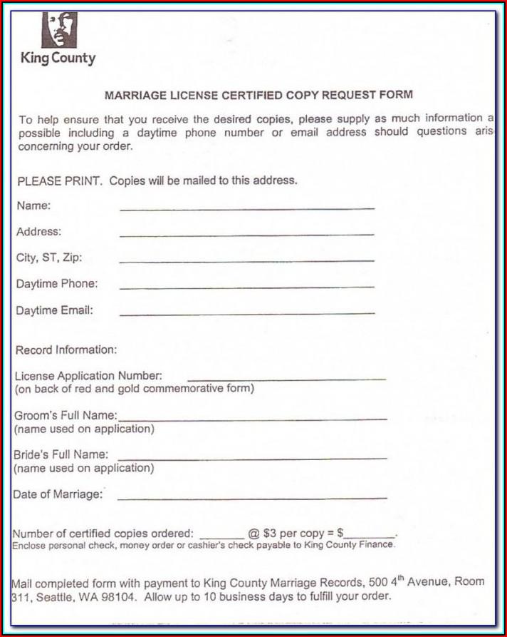 Divorce Forms Wa