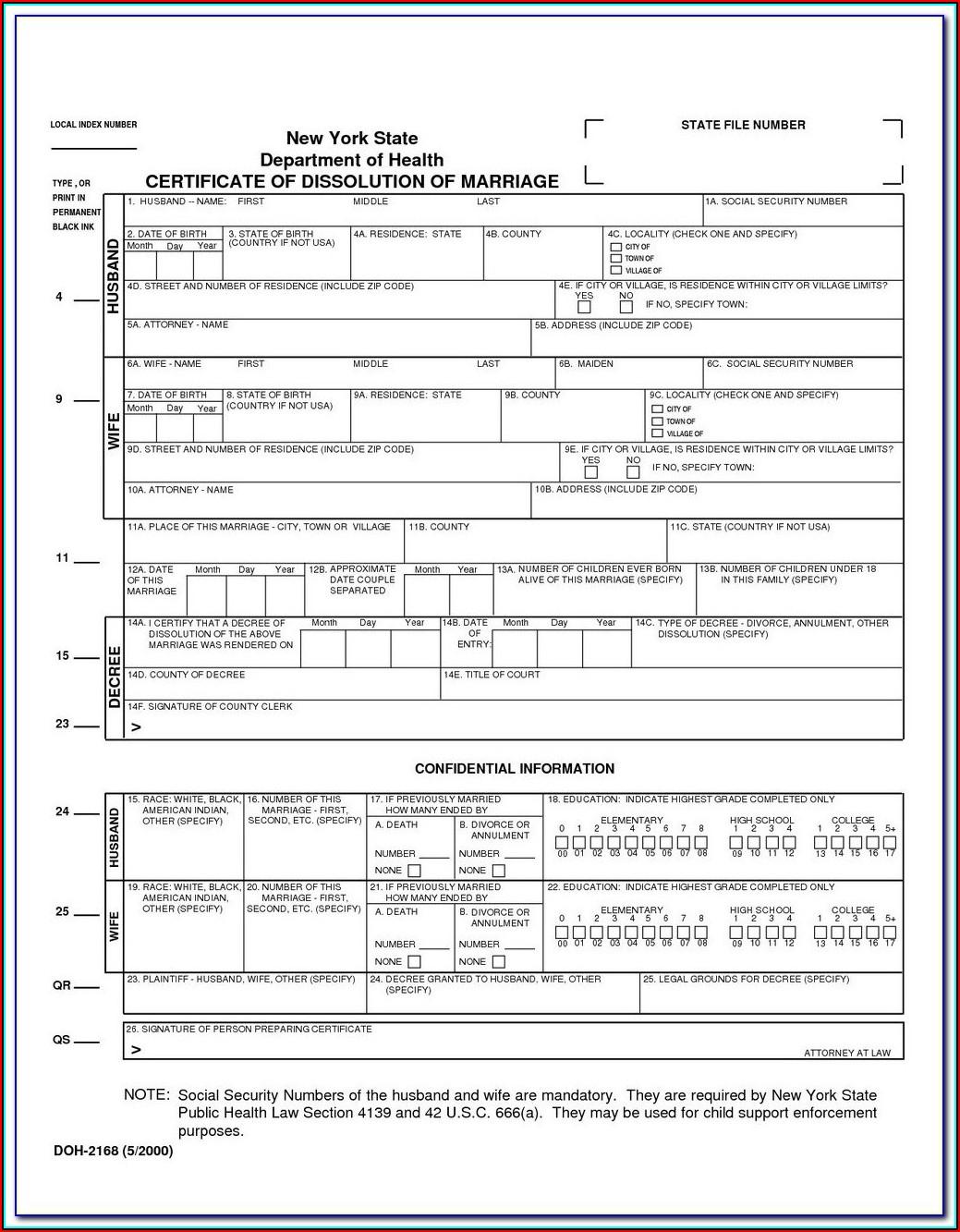 Divorce Paperwork In Florida