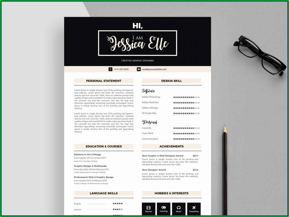 Editable Resume Templates Download