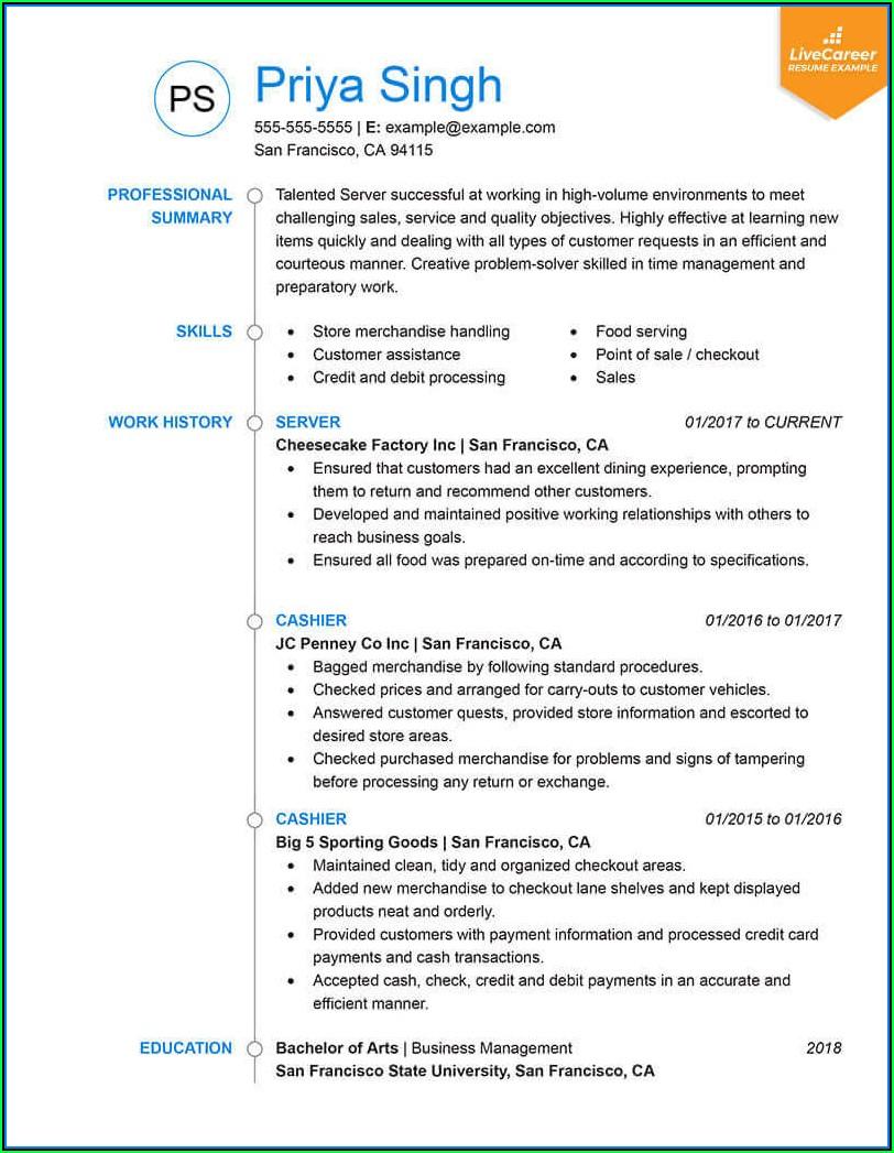 Effective Resume Templates 2019