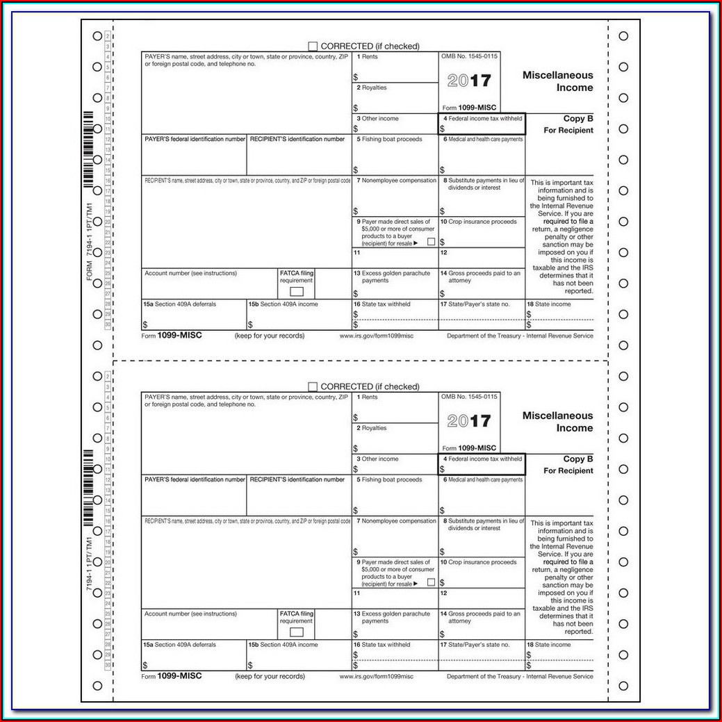 Employer 1099 Form
