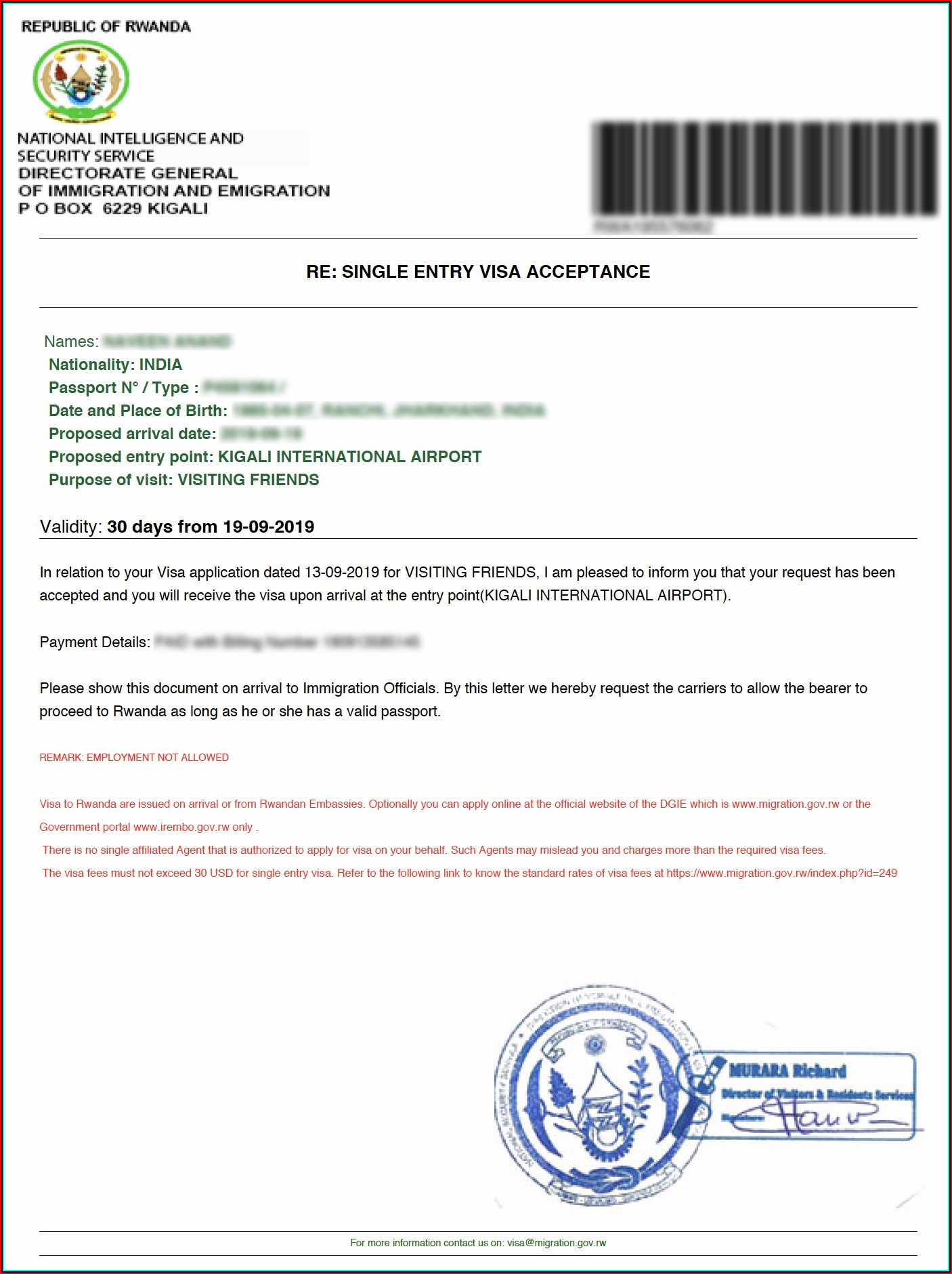 Ethiopian Embassy Visa Application Form For Eritrean In Sweden