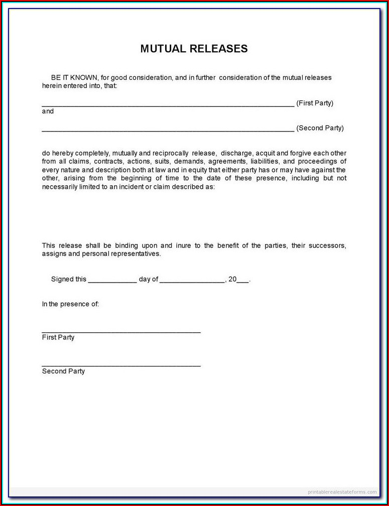 Final Waiver And Release Of Lien Form Florida