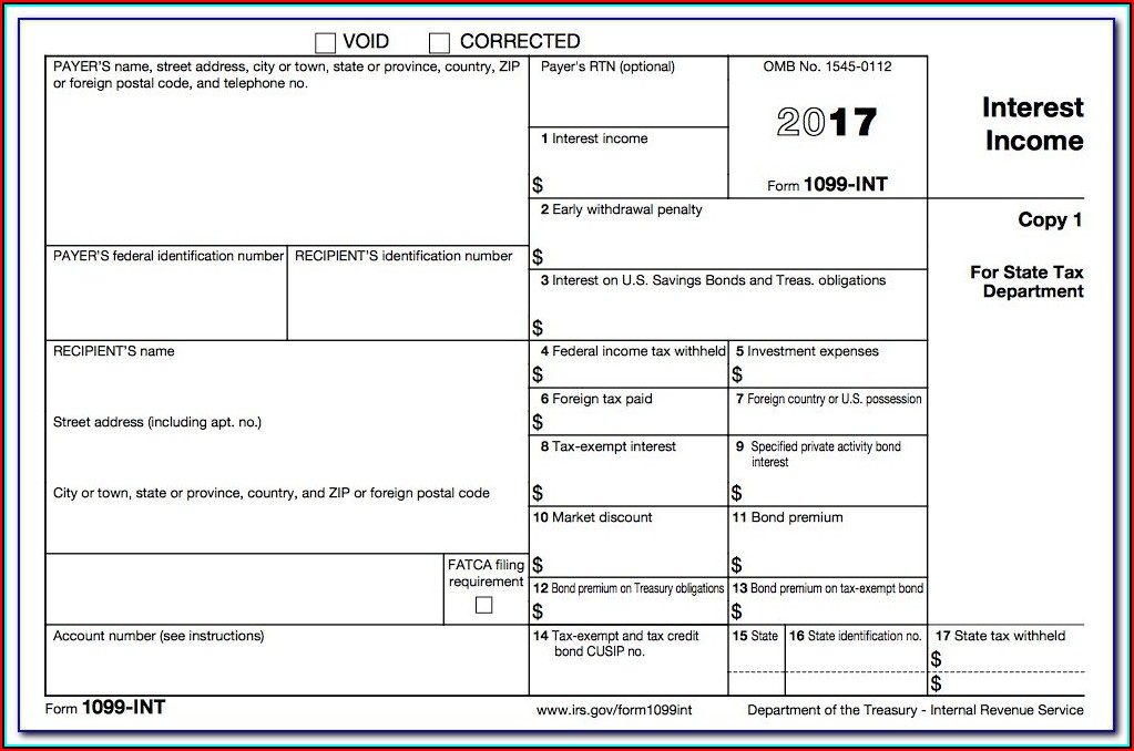 Form 1099 Int (rev. 10 2013)