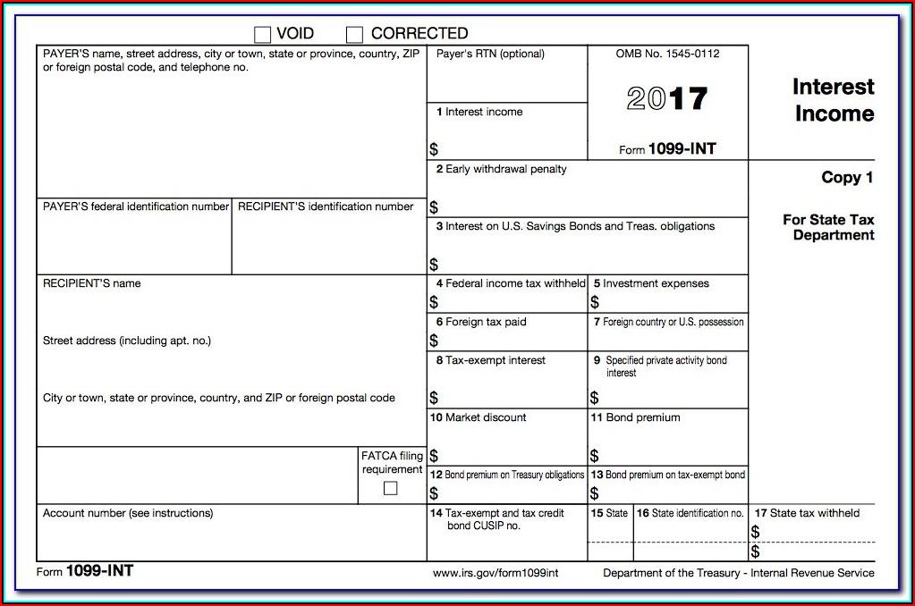 Form 1099 Int (rev. 10 2013)