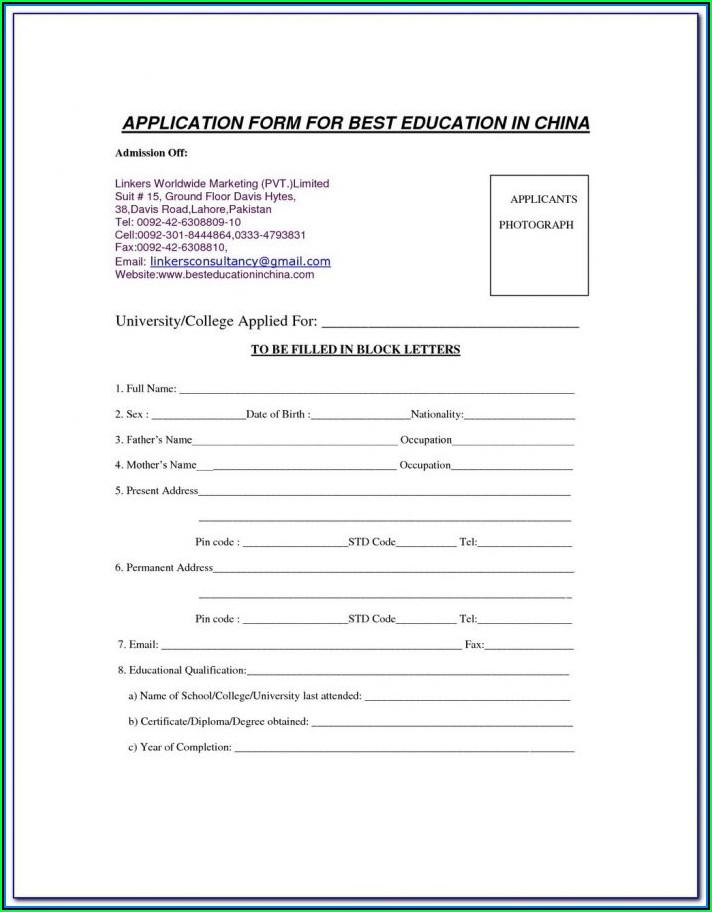 Format Of Resume For Nurses