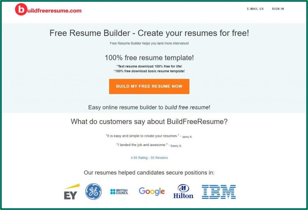 Free Creative Resume Builder Online