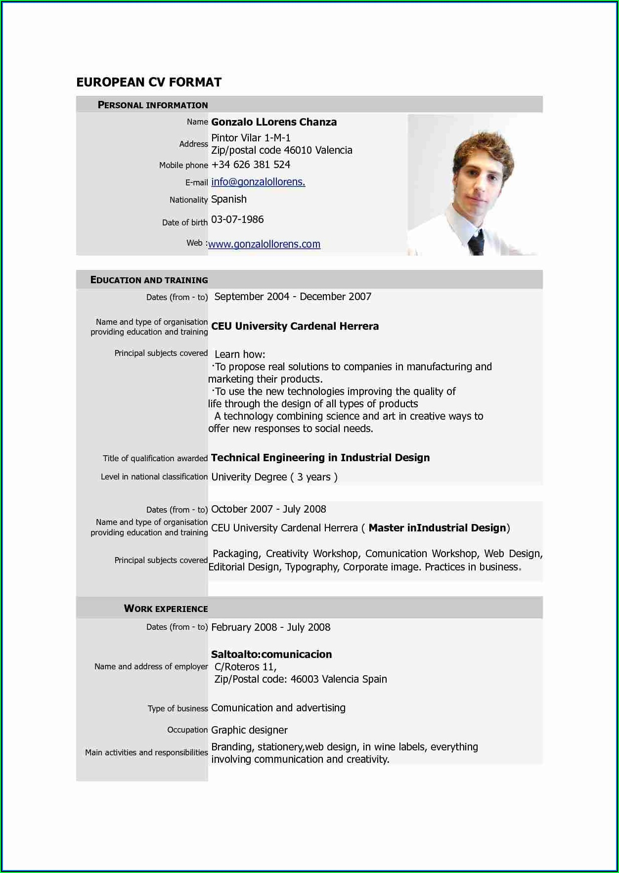 Free Executive Resume Templates 2017